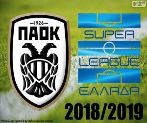 Układanka PAOK, mistrz 2018 2019 r.