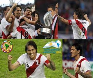Układanka Paolo Guerrero najlepszym strzelcem w Copa America 2011