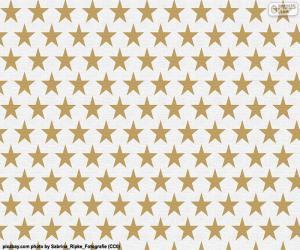 Układanka Papier pakowy gwiazda