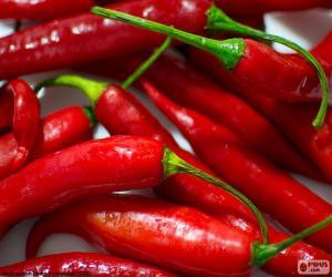 Układanka Papryka chili