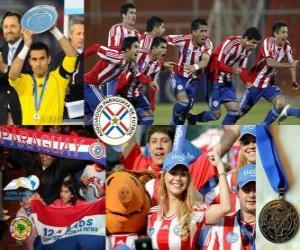 Układanka Paragwaj, 2. miejsce 2011 Copa America
