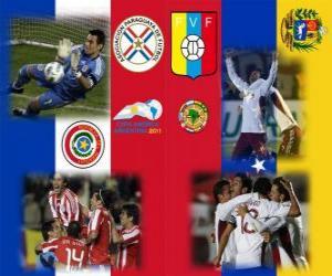 Układanka Paragwaj - Wenezuela, półfinały, Copa América Argentyna 2011