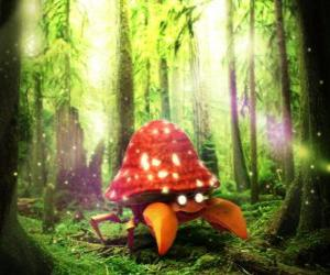Układanka Parasect - Bug typu Grass Pokémon