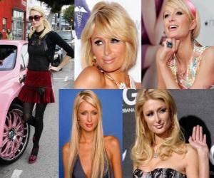 Układanka Paris Hilton jest ekonomista, autor, modelka, aktorka, projektanta i wykonawcy.