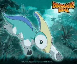 Układanka Paris, Parapara. Parazaurolof dinozaurów, posiadane przez Zoe z zespołu-D