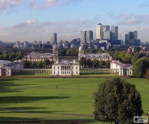 Układanka Park Greenwich, Londyn