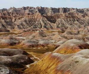 Układanka Park Narodowy Badlands, Stany Zjednoczone