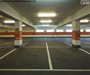 Układanka Parking