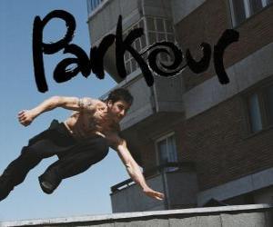 Układanka Parkour to sposób klimatyzacji ciała i umysłu poprzez uczenie się, jak pokonać przeszkody szybko i sprawnie