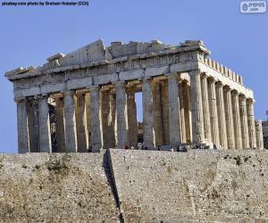 Układanka Partenon, Grecja