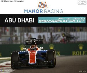 Układanka Pascal Wehrlein, Grand Prix Abu Zabi 2016