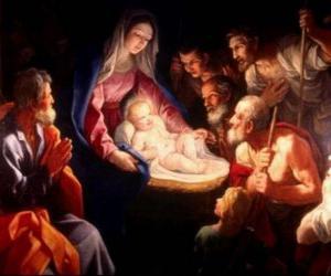 Układanka Pasterzy Jezus adorowania