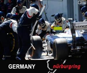 Układanka Pastor Maldonado - Williams - Nürburgring, 2013