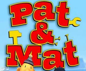 Układanka Pat i Mat Logo