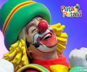 Układanka Patatá, jeden z klaunów z Patatí Patatá