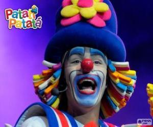 Układanka Patatí, jeden z klaunów z Patatí Patatá