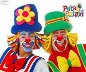 Układanka Patati Patatá klaunów