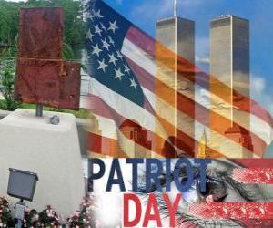 Układanka Patriot Day, 11 września w Stanach Zjednoczonych, w pamięci ataków z 11 września 2001