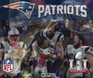 Układanka Patriots, Super Bowl 2017