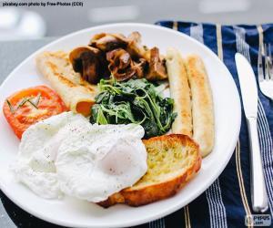 Układanka Pełne śniadanie