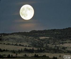 Układanka Pełnia księżyca