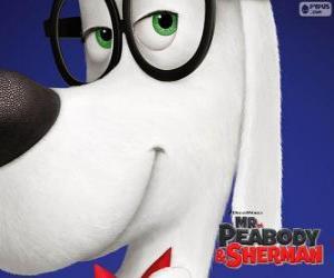 Układanka Peabody, pies, wynalazca