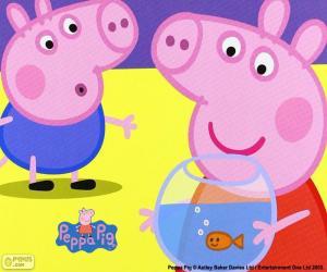 Układanka Peppa Pig maskotka