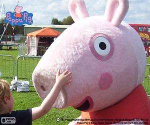 Układanka Peppa Pig z dzieckiem