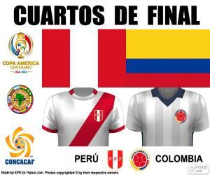 Układanka PER - COL, Copa America 2016