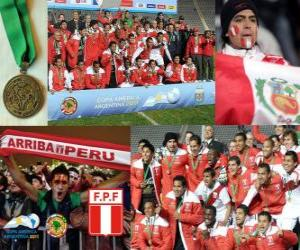 Układanka Peru, Copa America 2011 3 miejsce