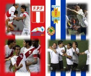 Układanka Peru - Urugwaj, półfinały, Copa América Argentyna 2011