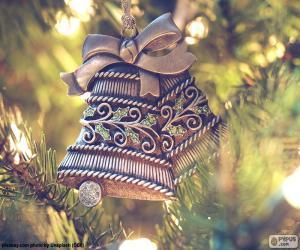 Układanka Piękny Boże Narodzenie kampanii