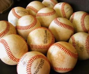 Układanka Piłki baseball