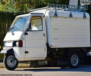 Układanka Piaggio Ape
