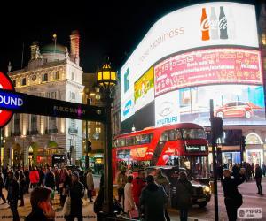 Układanka Piccadilly Circus, Londyn