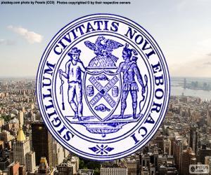 Układanka Pieczęć Nowego Jorku