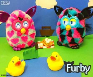 Układanka pikniku Furby