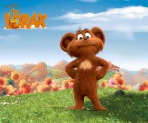 Układanka Pip, Pipsqueak jest zwierzę w Bar-ba-loot, kto lubi imitujących Lorax