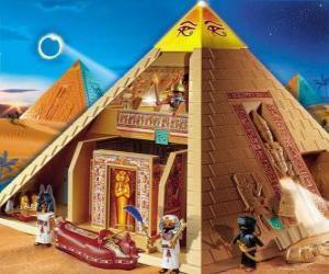 Układanka Piramida Egiptu Playmobil
