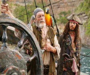 Układanka Pirat na czele