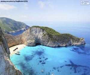 Układanka Plaża Nawajo, Grecja
