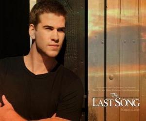 Układanka Plakat reklamowy Ostatnia piosenka (Liam Hemsworth)