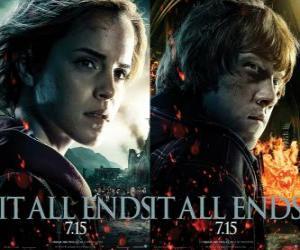 Układanka Plakaty Harry Potter i Insygnia Śmierci (4)