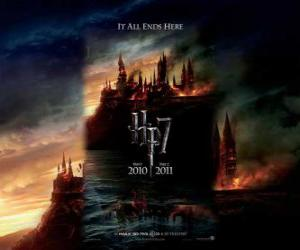 Układanka Plakaty Harry Potter i Insygnia Śmierci (1)