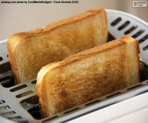 Układanka Plastry w tosterze