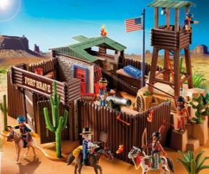 Układanka Playmobil Fort
