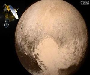 Układanka Pluton i New Horizons