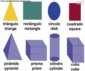 Układanka Podstawowe figury geometryczne