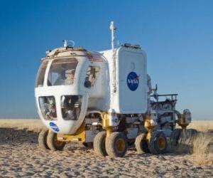 Układanka Pojazd do badania innych planet