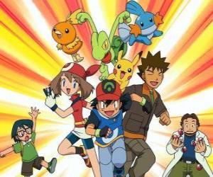 Układanka Pokémon